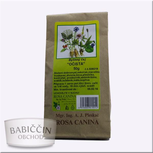 Byliny - otec Pleskač - Bylinný čaj Očista 50 g