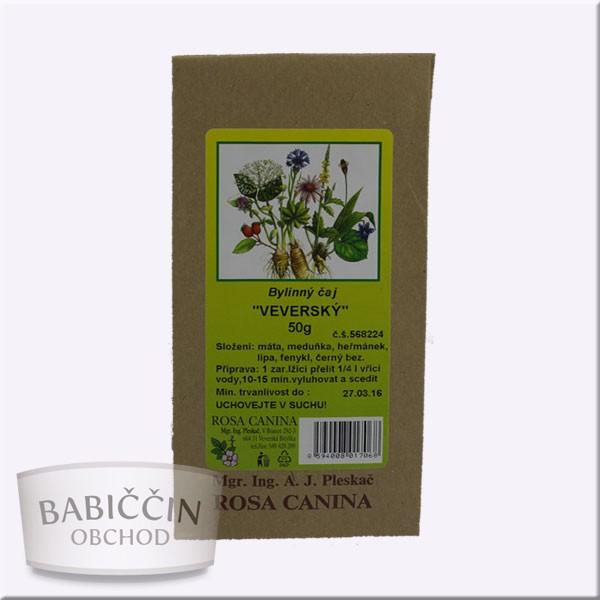 Byliny - otec Pleskač - Bylinný čaj - Veverský 50 g Rosa Canina