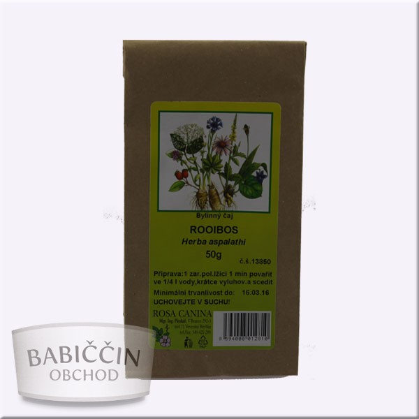 Byliny - otec Pleskač - Rooibos - Herba aspalathi 50 g