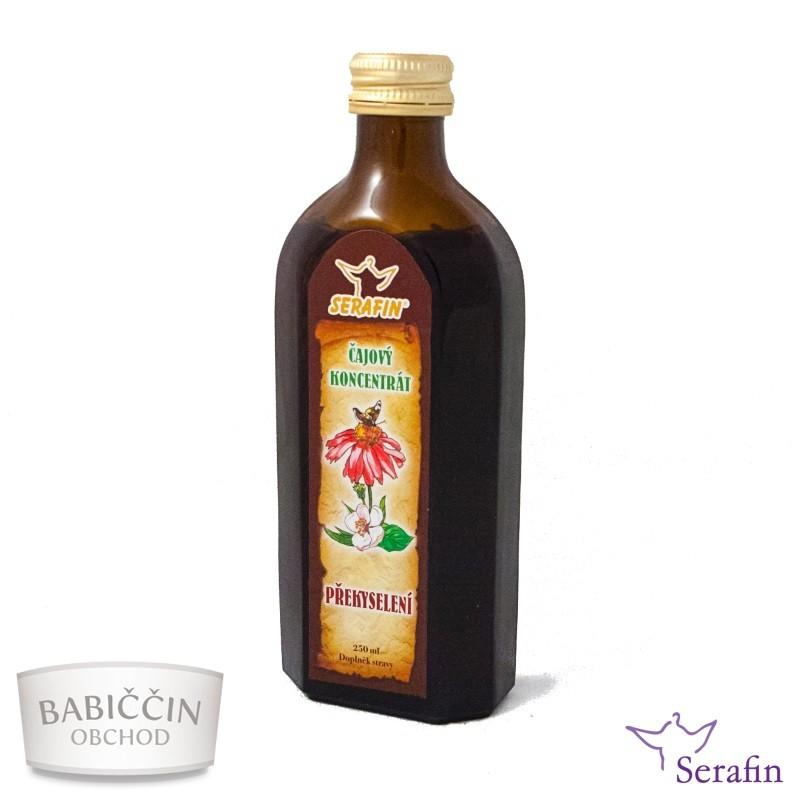 Bylinné tinktúry Serafin - Prekyslenie 250 ml