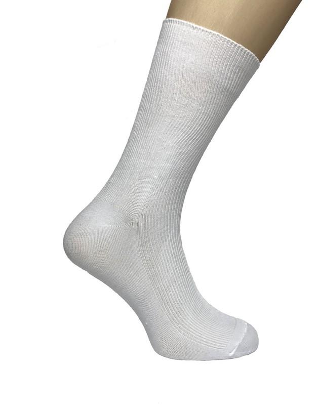 Zdravotné ponožky dámske biele veľmi jemné pre chodidlo - Babkin obchod 98f196ef74