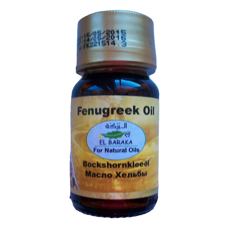 Prírodné neriedené oleje - Olej z senovky 100% herba oil 30 ml