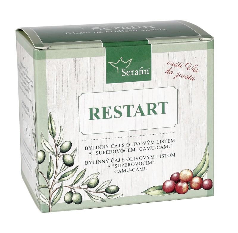 Byliny - Serafin - Reštart - bylinný čaj sypaný a kapsule