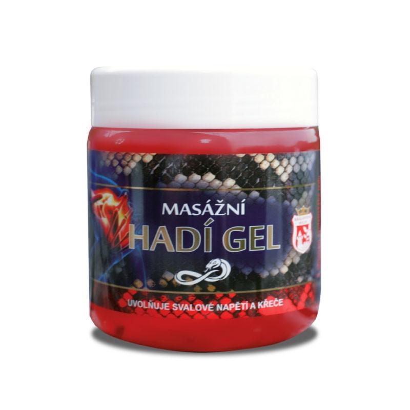 Prírodná kozmetika - Hadí gél masážny 500 ml
