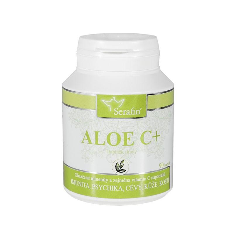 Kapsule Serafin - Aloe C+ prírodné kapsule