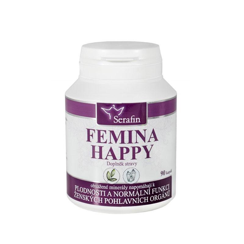 Kapsule Serafin - Femina happy - prírodné kapsule