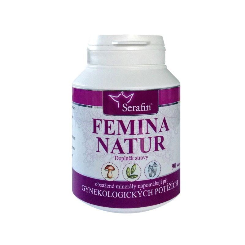 Kapsule Serafin - Femina natur - prírodné kapsule