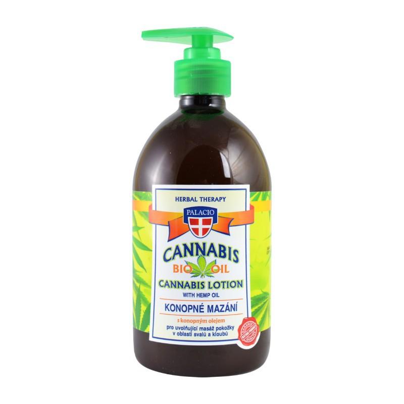 Prírodná kozmetika - Konopné mazanie 500 ml