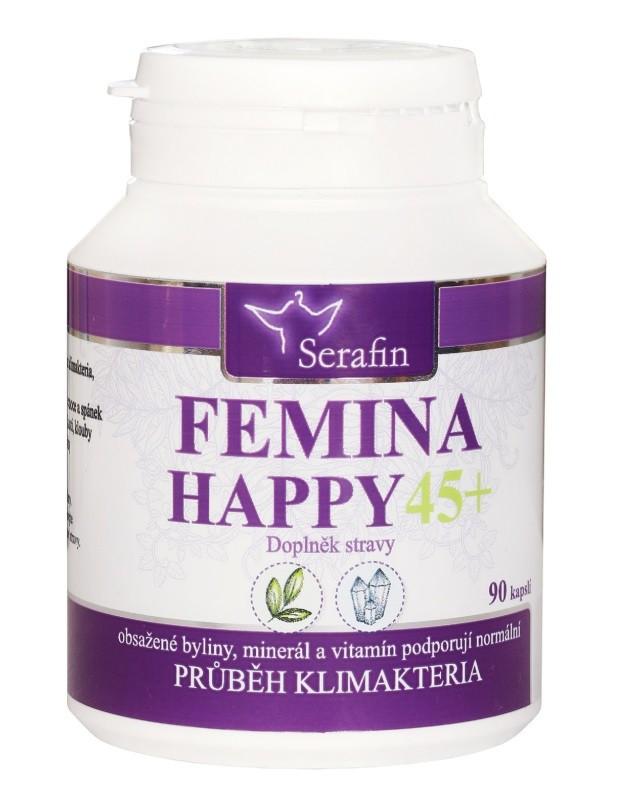 Kapsule Serafin - Femina happy 45+ - prírodné kapsule