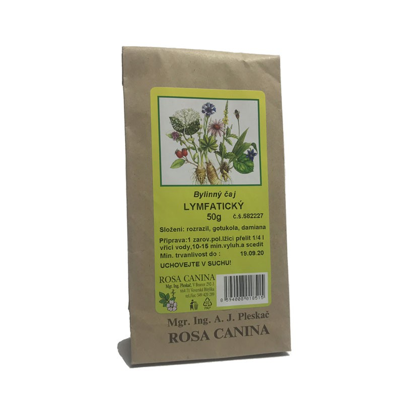 Byliny - otec Pleskač - Bylinný čaj Lymfatický 50 g