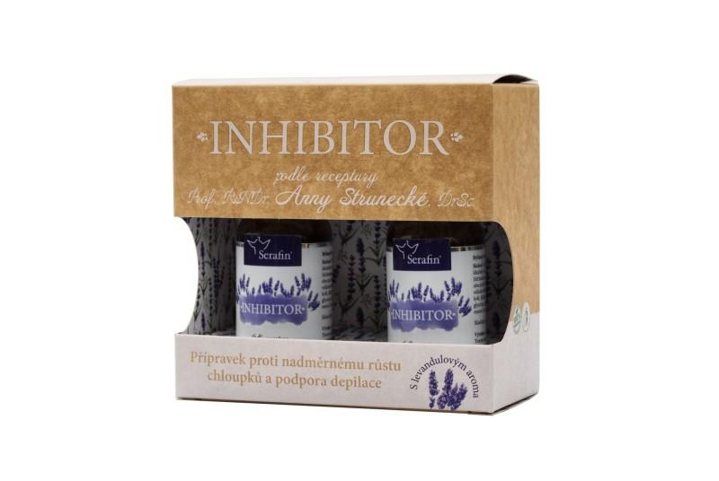 Prírodná kozmetika - Inhibítor - pri nadmernom rasťe chĺpkov