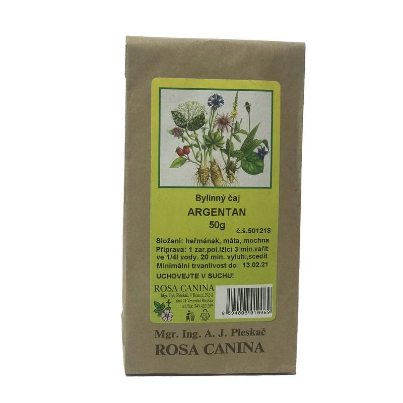 Byliny - otec Pleskač - Bylinný čaj Argentan 50 g