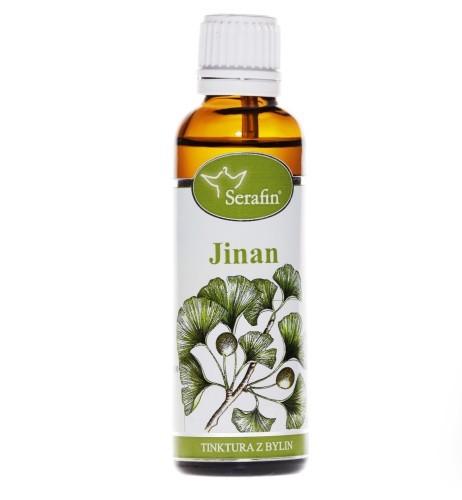 Bylinné tinktúry Serafin - Jinan - Gingko 50 ml