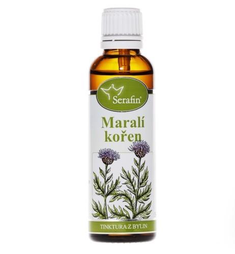 Bylinné tinktúry Serafin - Maralí koreň - Maral root 50 ml