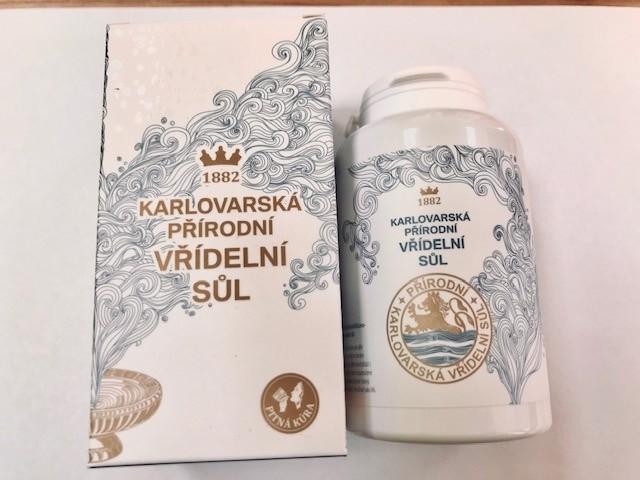 Bylinné krémy, soli a masti - Karlovarská soľ 100 g na vnútorné užitie