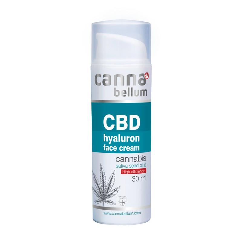 Prírodná kozmetika - CBD hyaluronový krém 30 ml + DÁREK