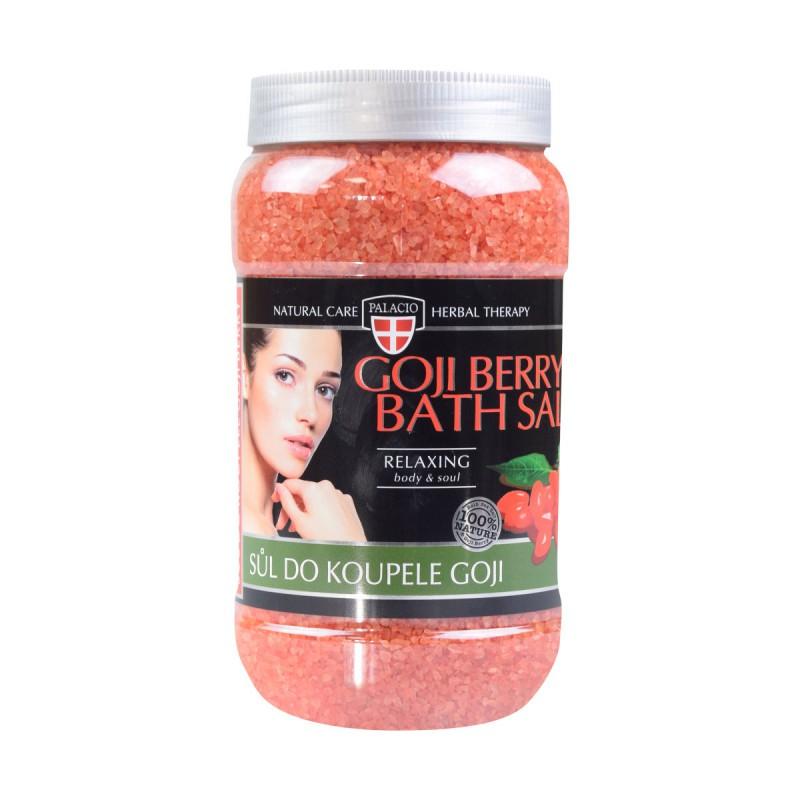 Prírodná kozmetika - Goji koupelová sůl 1200 g