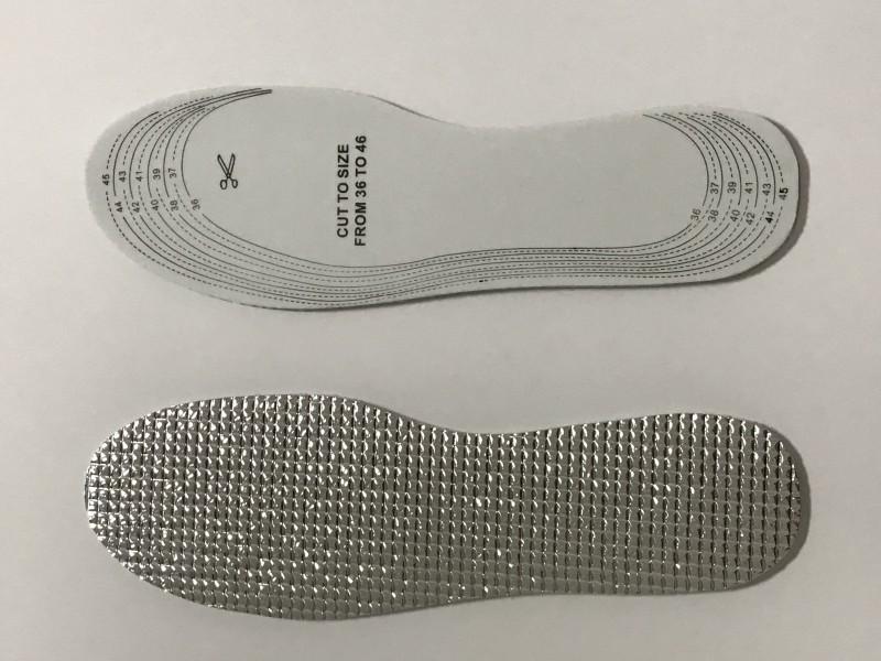 Masážne pomôcky a ortézy - Vložky do topánok latexové s izolačnou fóliou
