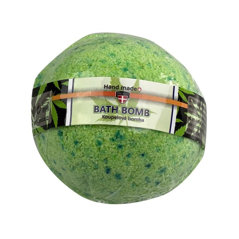 RÝCHLA VOĽBA-Starostlivosť o telo a vlasy - Konopná guľa - kúpeľová bomba 95 g