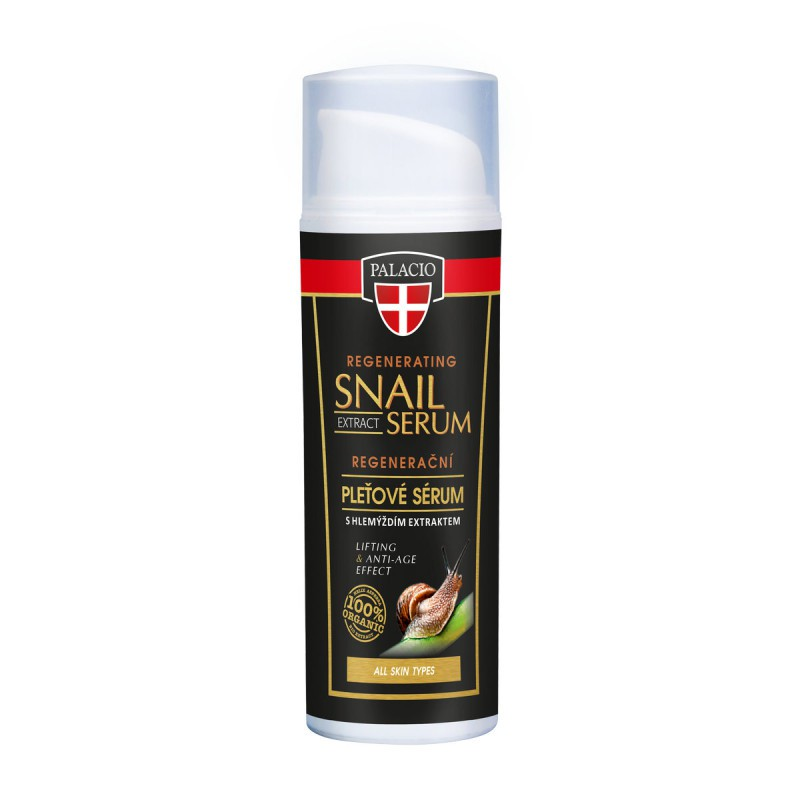 Bylinné krémy, soli a masti - Slimačí extrakt pleťové sérum 50 ml
