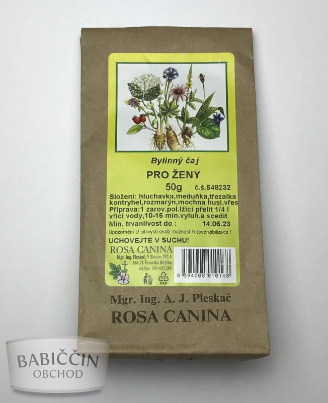 Byliny - otec Pleskač - Bylinný čaj Pre ženy 50 g