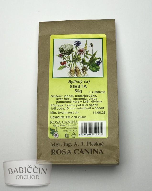 Byliny - otec Pleskač - Bylinnný čaj Siesta 50 g