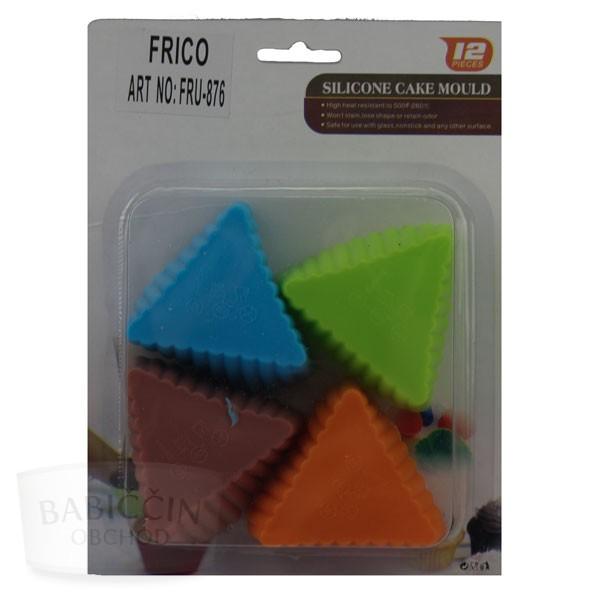 Všetko pre domácnosť - Sada silikónových foriem trojuholníky