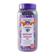 Levanduľová soľ do kúpeľa 900g