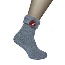 Mega termo ponožky sivé