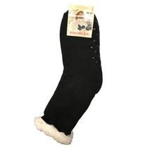 Spacie ponožky jednofarebné čierne