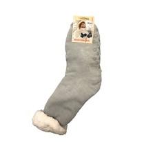 Spacie ponožky jednofarebné sivé
