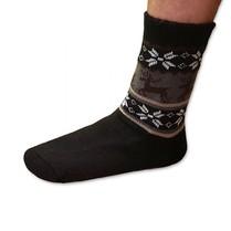 Spacie ponožky pánske čierne
