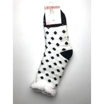 Spací ponožky s bodkami