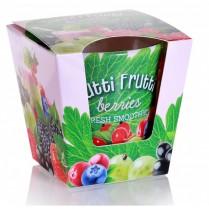 Sviečka vonná v skle Tutti Frutti berries 115g