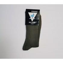 Zdravotné ponožky pánske zelené