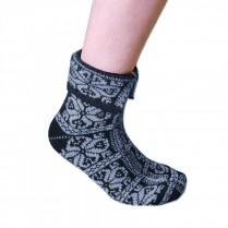 Ponožky Peruánky sivé