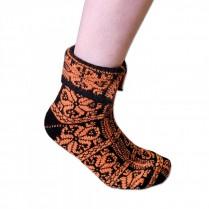 Ponožky Peruánky oranžové