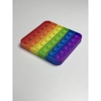 POP IT antistresová hračka štvorec rainbow