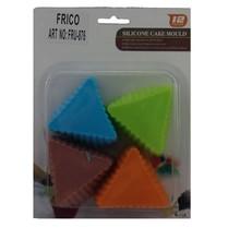 Sada silikónových foriem trojuholníky